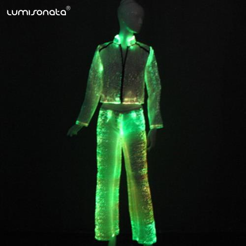 YQ-64-62  light up women suits led coat