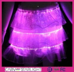 YQ-24 luminous sexy skirts fashion
