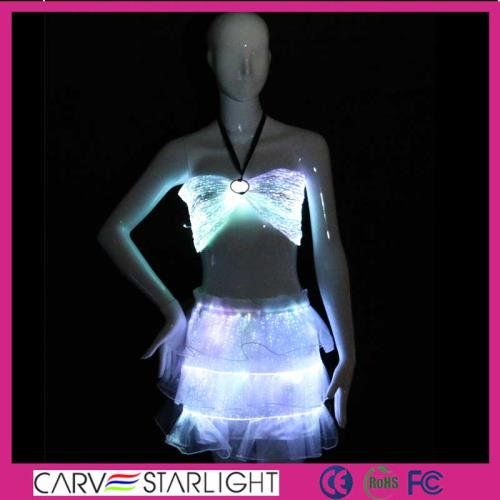 YQ-02-24 glowing sexy luminous dress