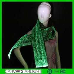 YQ-49 luminousscarf, light up scarf, evening scarf