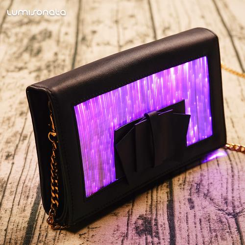 YQ-35 LED light up fashion handbag