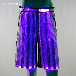 YQ-40 luminous dance shorts