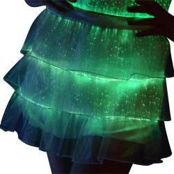 YQ-24 luminous short mini skirts