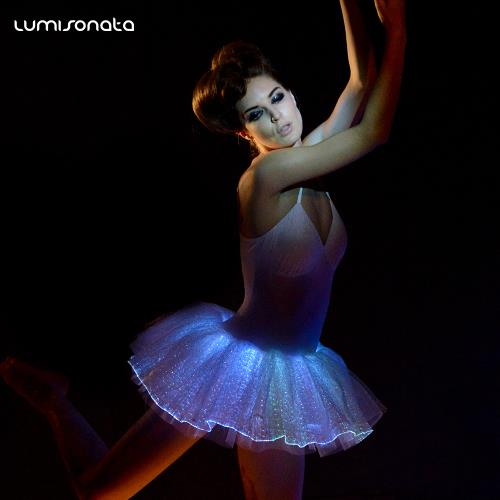 YQ-41 illuminated led ballet tutu dress