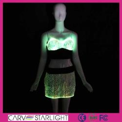 YQ-07-14 optic fiber short skirt sets
