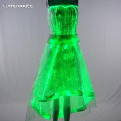 YQ-58 luminous evening dresses gown