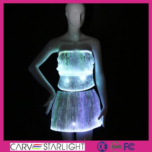 YQ-04-08 light up top and skirt set