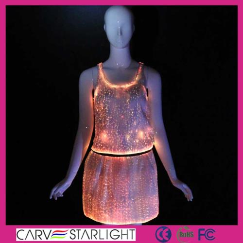 YQ-08-66 luminous led tank skirt costume