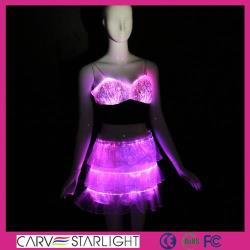 YQ-07-24 led light up stage performance clothes