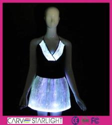 YQ-11-08 led luminous top and skirt