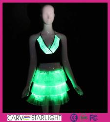 YQ-11-24 luminous top and skirt