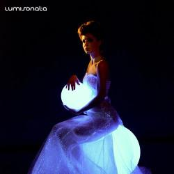 YQ-50 luminous evening gown
