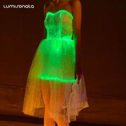 YQ-42 glow in the dark party dresses