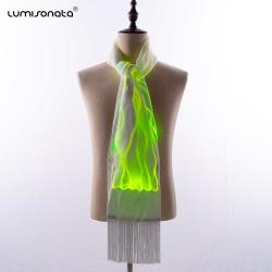 YQ-49 luminous led light up scarf for dance