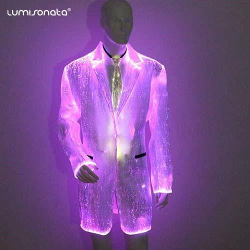 YQ-88 light costumes fiber optic suit