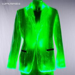 2019 LED new jacket glowing lightening