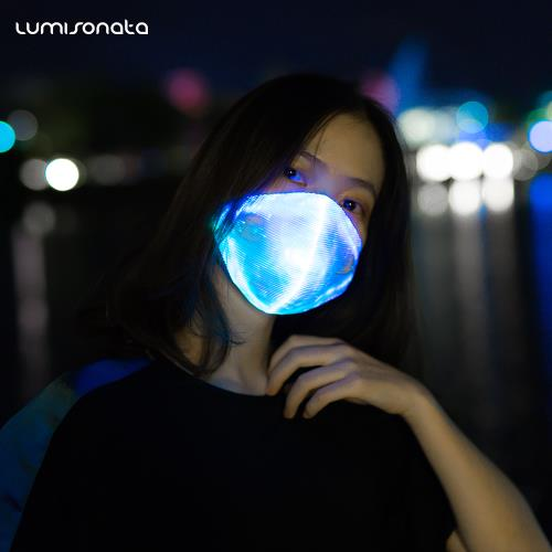 Led Light up party rave mask