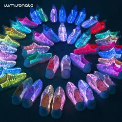 YQ-117 Latest Fashion LED Light up Shoes
