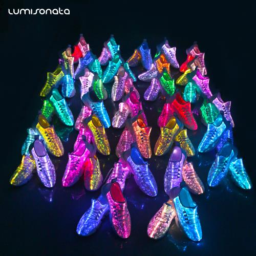 YQ-117 Light up Sneakers Shoes for Adults