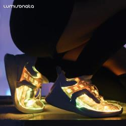 Fiber Optic LED Light Up Shoes for Adults