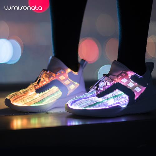 YQ-117 LED Light up luminous Shoes