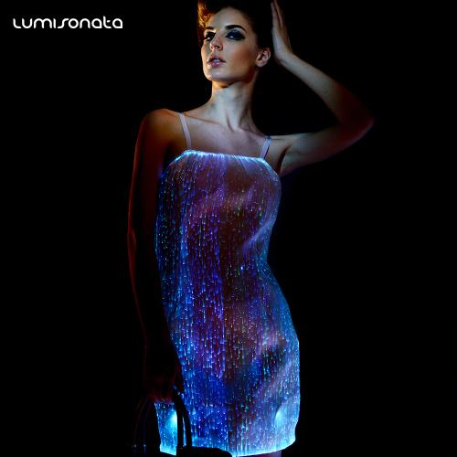 YQ-39 light up party dress