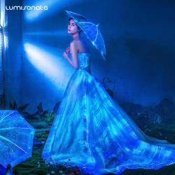 Luxury LED Light Up Bridal Gown 2018