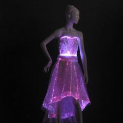 YQ-58 LED flashing women dresses