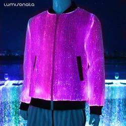 YQ-87 luminous Mens LED light up jacket