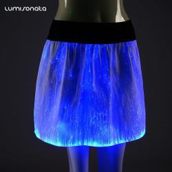 led light up short skirts