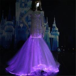 YQ-103 light up Wedding Dresses