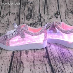 YQ-117 LED Glowing Sneakers Casual Shoes For Child
