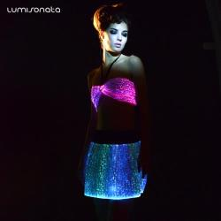 YQ-02 luminous dance tops