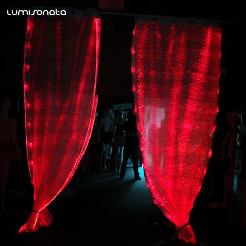 LImg YQ 15 Led Light Up Color Changing Curtain