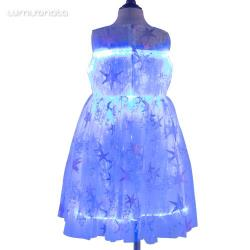 Girl Evening Led light up Dresses Lumisonata