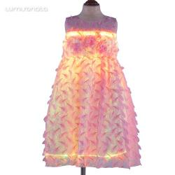 LED Light Up Skirt Kids