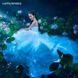 Lumisonata Wedding Dress With Lights