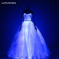 Lumisonata Glowing wedding dress
