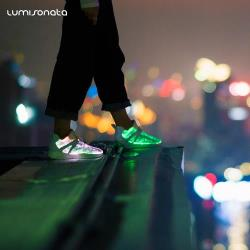 YQ-117 LED LIGHT UP SHOES MULTI-COLORED