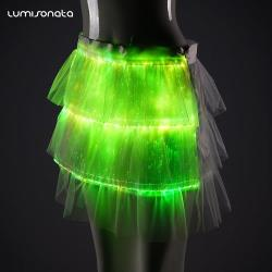 Glow-In-The-Dark Skirt Lights Up to Let You Shine