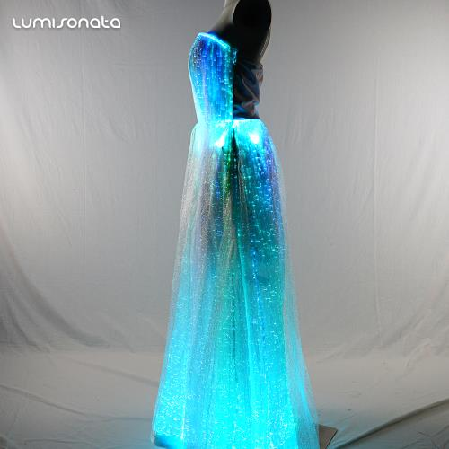 Light Up Prom Dresses With Led Light Up
