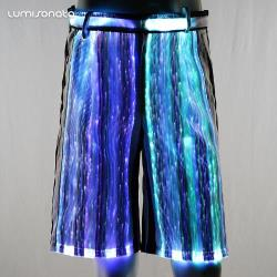 Rave party pants by LUMISONATA