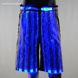 Rave Dance Pants for Men With Led Light