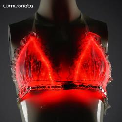 LED Bra Light-Up Lingerie