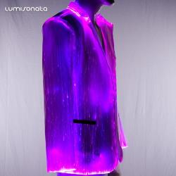 Light Up LED Clothing -Men Jacket