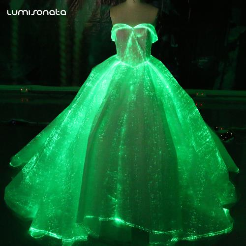 Light Up Wedding Gown Glow In The Dark