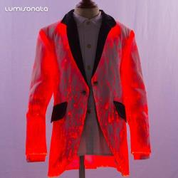 Luminous formal kid suit