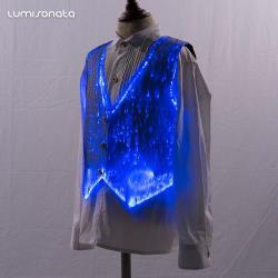 formal wear led luminous boys vest