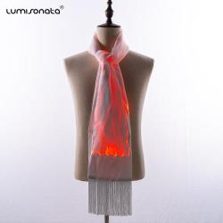 Light Up Fiber Optic Fabric Rave scarf