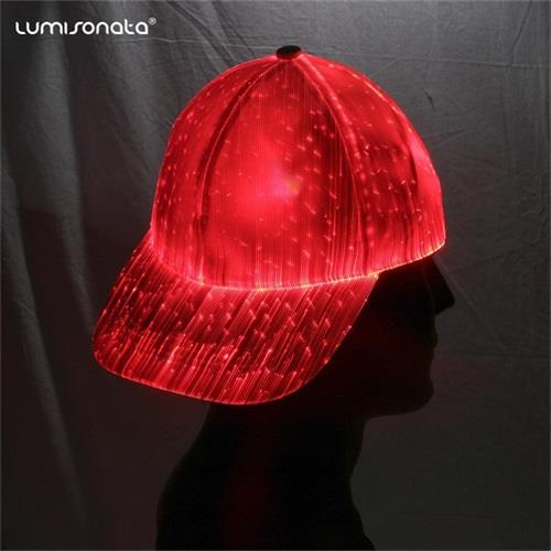 led baseball cap for Christmas party sale